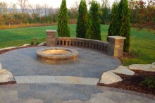 Lower Patio with Firepit