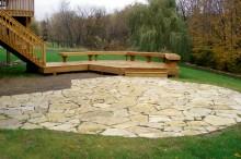 Natural Flagstone patio