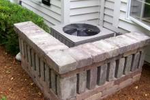 Air Conditioner Stone Screen