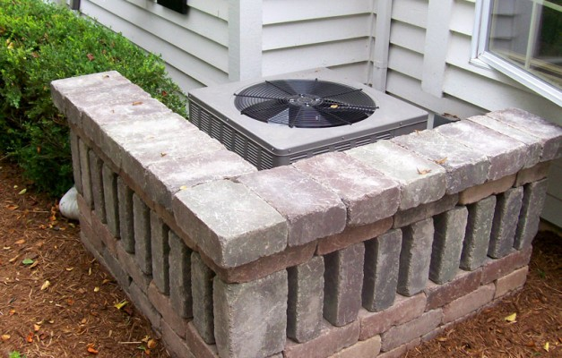 Air Conditioner Stone Screen
