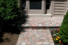 Pavers Over Concrete Stoop
