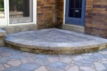 Decorative Radius Step