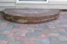 Weston Step with Paver Inlay