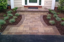 Dansville Beige Mega Lafitt with Matching Step