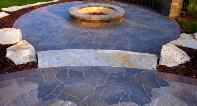Unique Use of Pavers